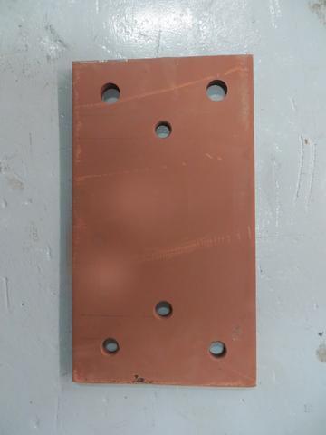 RDB 051 - Back Plate ( Approx dims: 460 x 255 x 15 mm)