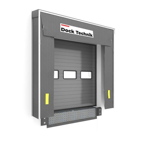 loading bay retractable dock shelter