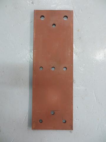 RDB 335 - Dock Bumper Front Plate ( Approx Dims: 750 x 250 x 15 mm )