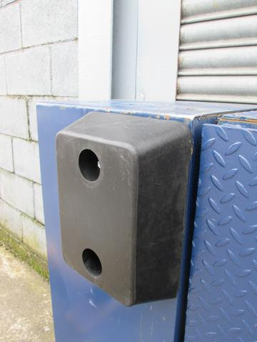 RDB 001 - Rubber Dock Buffer (Approx Dims: 330 x 250 x 100 mm)
