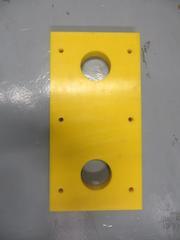 RDB 317 - Dock Bumper Front Plate ( Approx Dims: 410 x 210 x 35mm )