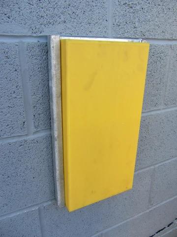 RDB 018 - UHMWPE Dock Buffer (Approx Dims: 470 x 270 x 66 mm)