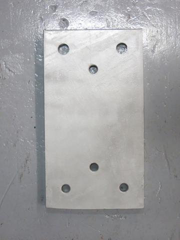 RDB 053 - Back Plate ( Approx dims: 450 x 250 x 15mm)