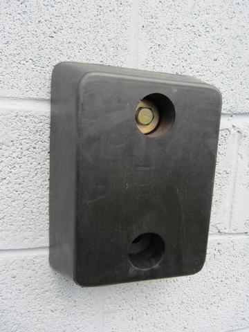 RDB 011 - Rubber Dock Buffer (Approx Dims: 330 x 250 x 100 mm)
