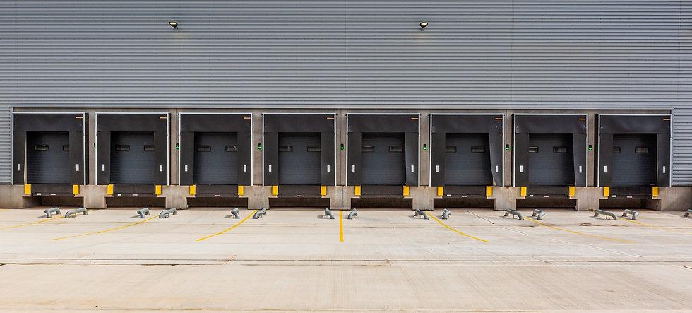 Installation of loading bay dock buffers