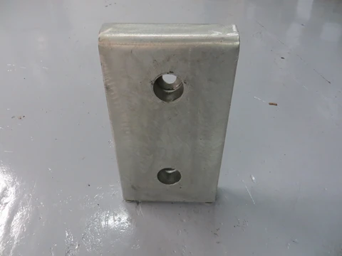 RDB 035 - Front Plate (Approx Dims: 460 x 255 x 65 mm)