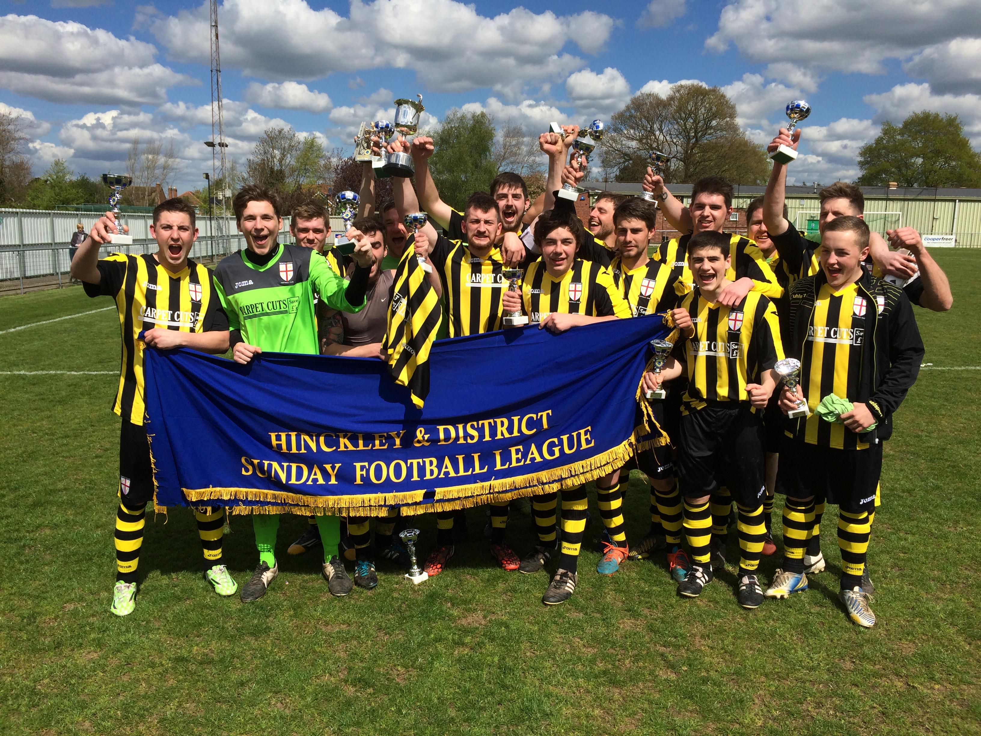 The 14/15 senior cup winners!