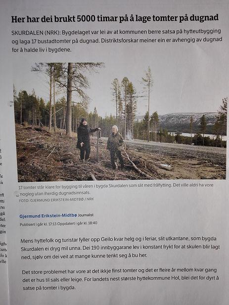 Om Skurdalen i NRK