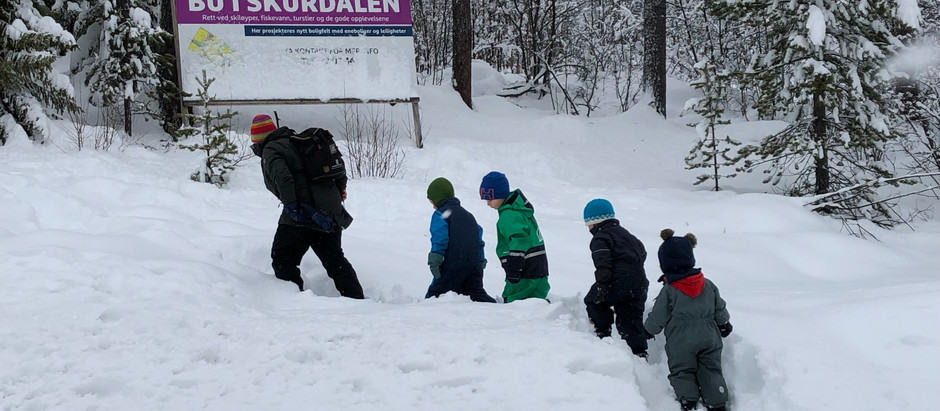 Barn i Skurdalen