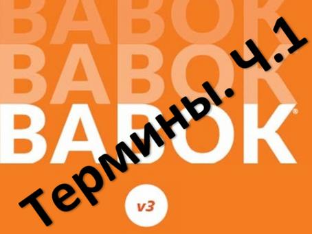 BABOK 3. Термины, которые могут сбить вас с толку Ч.1