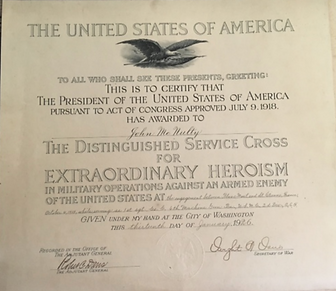 Distinguished Service Cross 1926 Black E