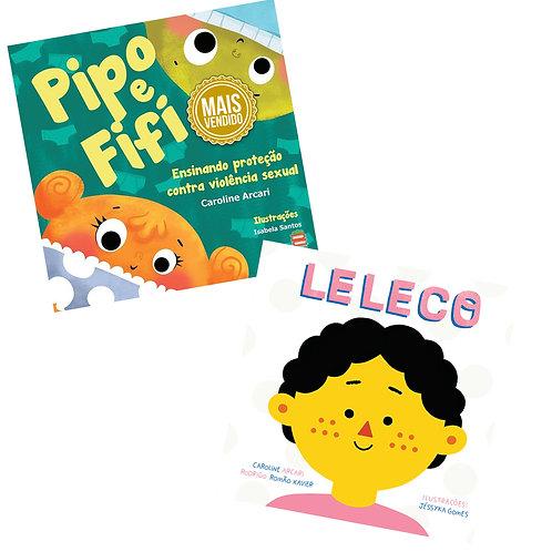Kit Pipo e Fifi + Leleco