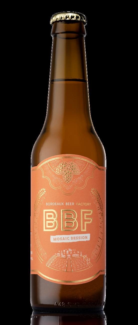Bouteille bière BBF Mosaic Session