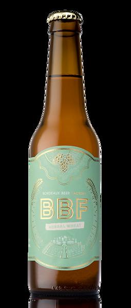 Herbal wheat bouteille de bière artisanale craft beer Bordeaux Beer Factory blanche verveine