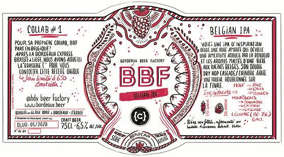 Belgian IPA collaboration bière liège Curtius Bordeaux Beer Factory craft houblon
