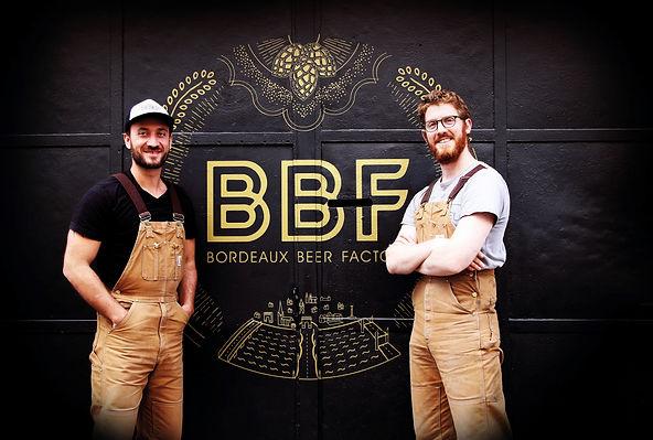 BBF Bordeaux Beer Factory Brasserie Urbaine Brewpub atelier de brassage bière artsanale craft beer paul nico porte noire