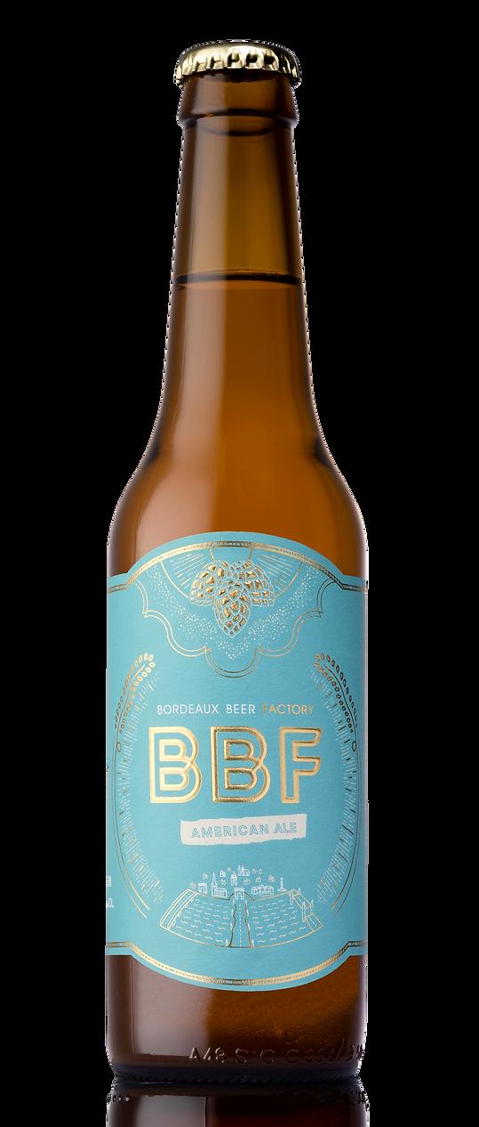 Bouteille bière BBF American Pale Ale