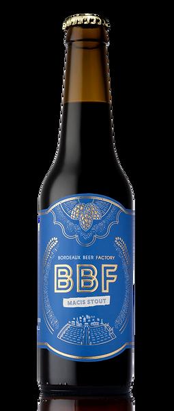 Macis Stout bouteille de bière artisanale craft beer Bordeaux Beer Factory