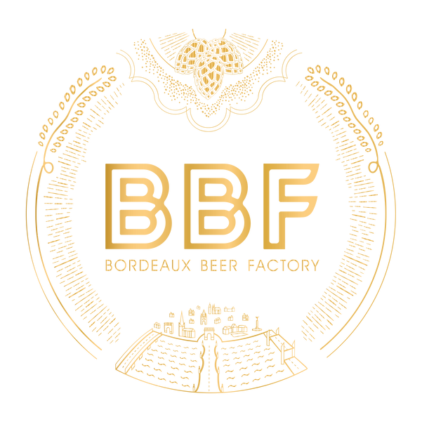 BBF Bordeaux Beer Factory logo bièe artisanale Craft beer Bordeaux Brewpub