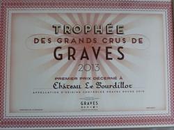 Trophée Grands Crus de Graves 2013