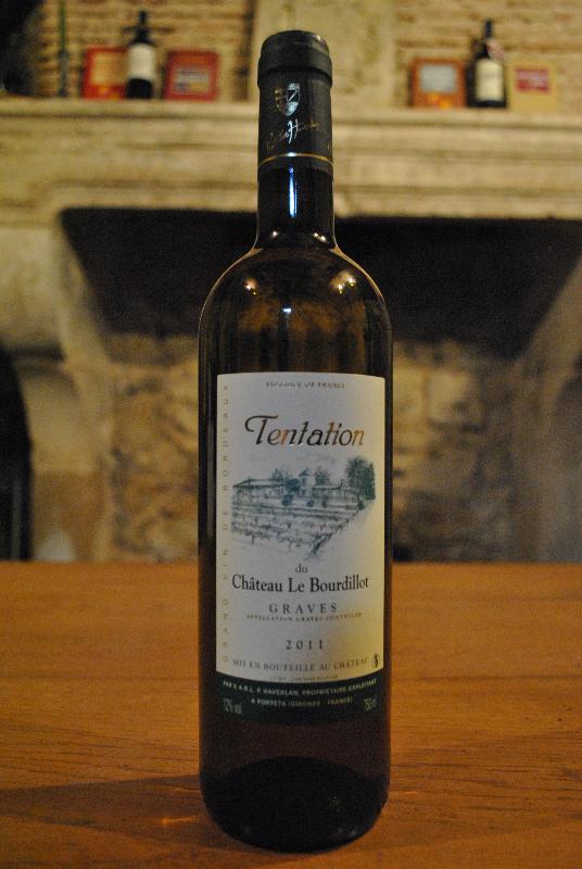 Tentation du Château Le Bourdillot