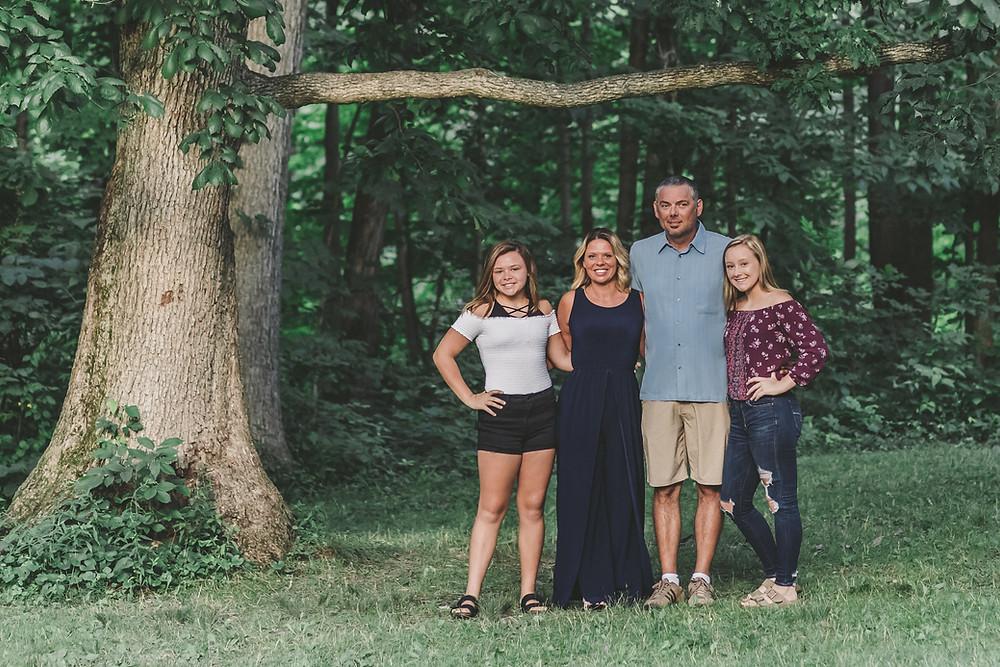Family Photo Session John Bryan State Park