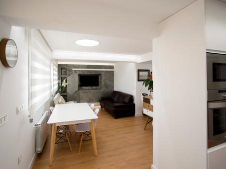 Reforma Integral piso V&MA, sencillez y funcionalidad en Lorca
