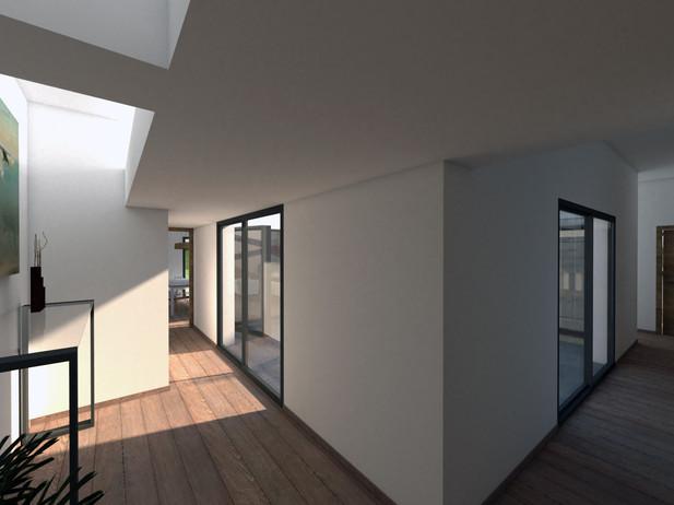 Proyecto de Vivienda Unifamiliar con Patio para Inmobiliaria