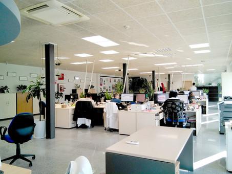 Reforma de oficinas Ángel Linares