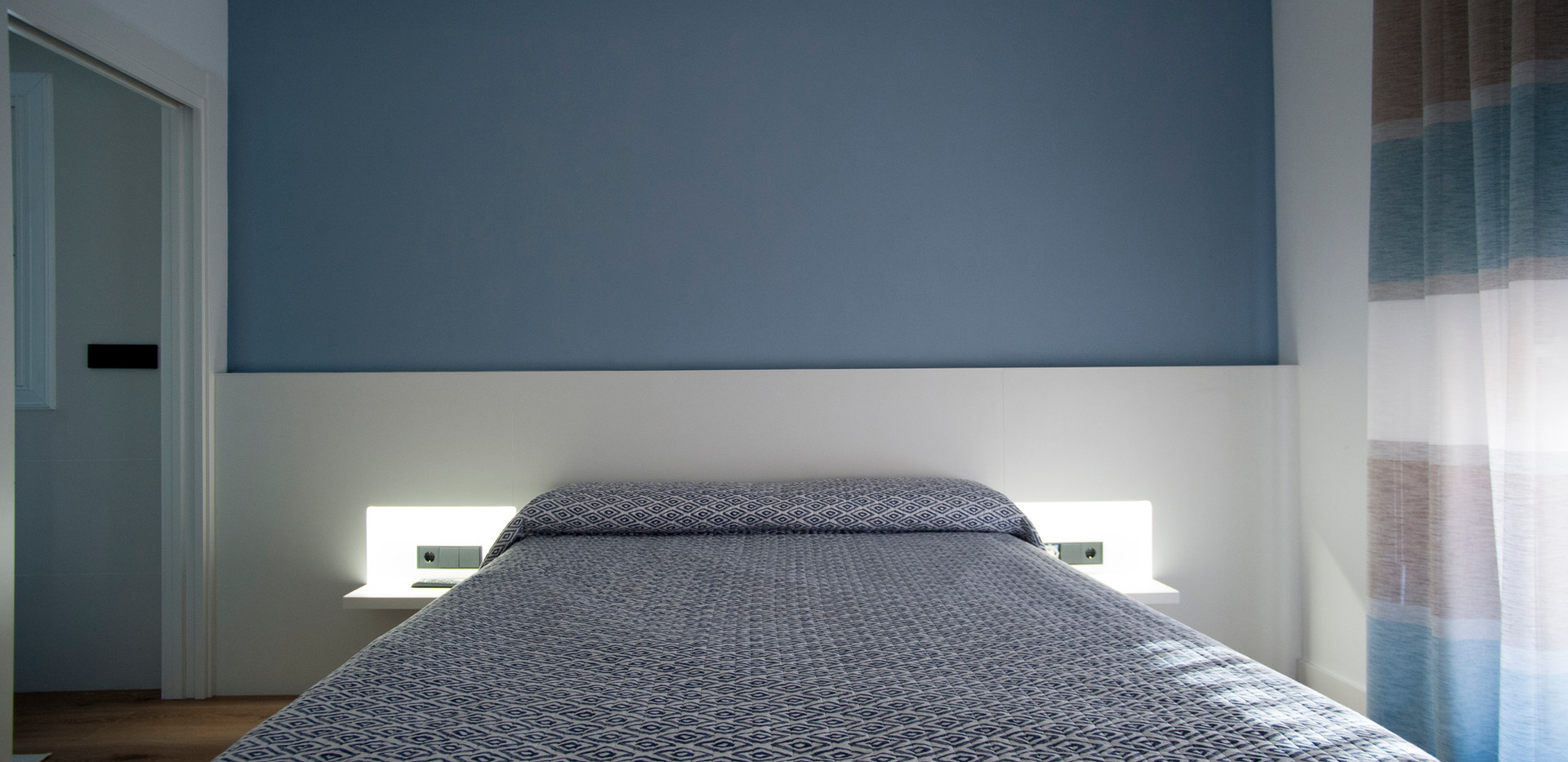 Reforma ático Lorca dormitorio