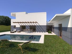 Proyecto de Vivienda Unifamiliar en 2 niveles para inmobiliaria