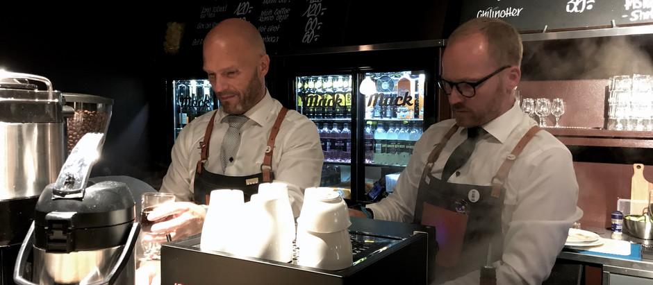Bli kjent med Espen og Howar fra Munin Coffee Roasters.