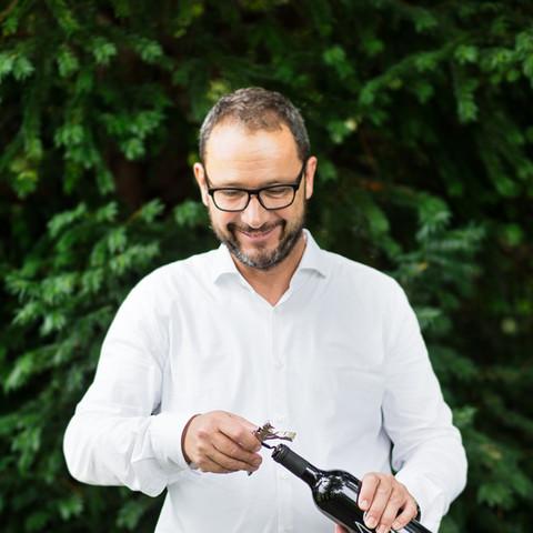 Mark Landolt, Chef der Landolt Weine AG