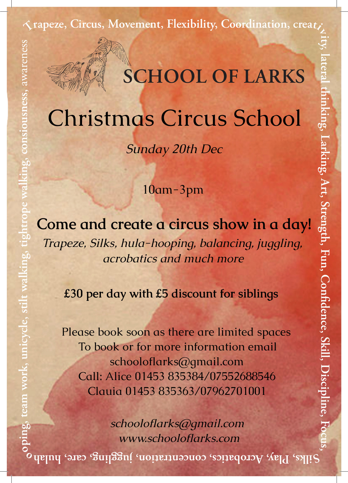 School of LarksChristmas School 2015