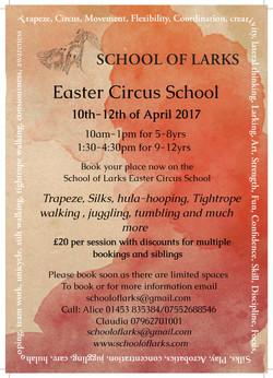 School of larks Easter School 2017
