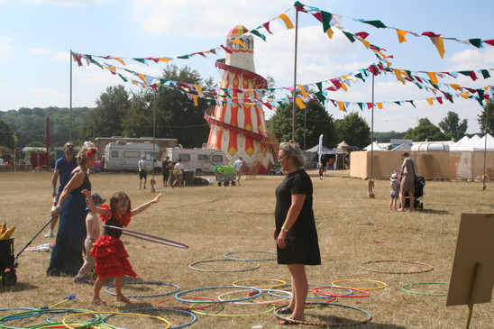 Wilderness Festival School of Larks