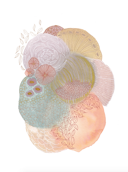 Warm Pastel Color Study