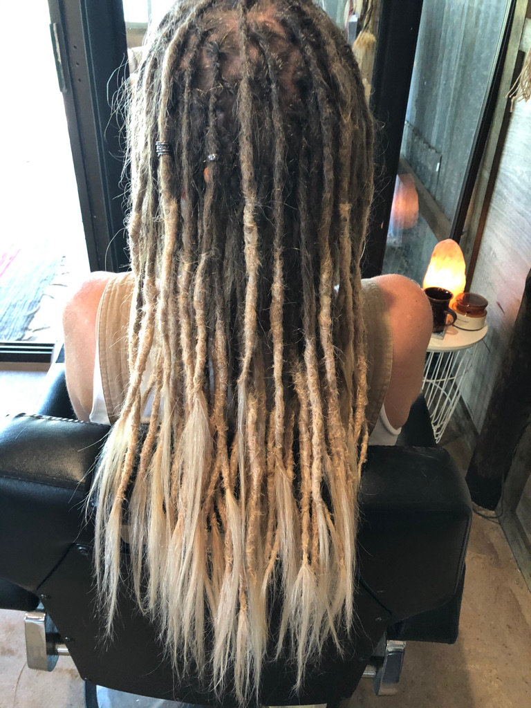 Full Head of Dreadlocks with Extensions