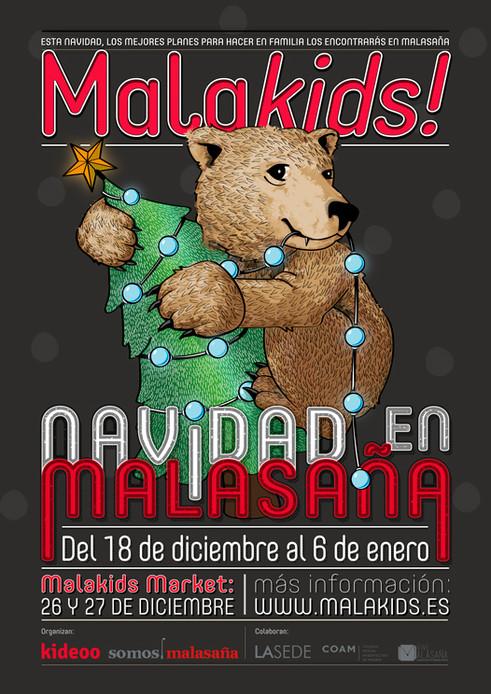 Malakids! Navidad con niños en Malasaña.