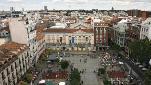 Lugares de Madrid : La Plaza de Santa Ana.