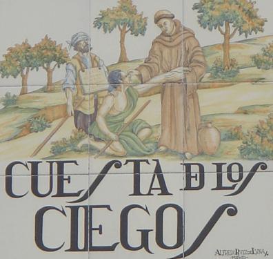 Lugares de Madrid: La cuesta de los ciegos.