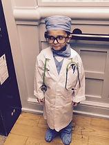 young eye surgeon
