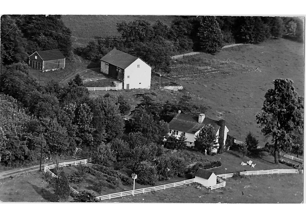 Roy Farm Aerial Shot 1948 (1)