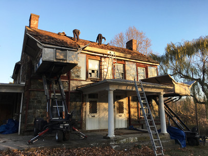 Brought Back to Life - Charles Roberts House