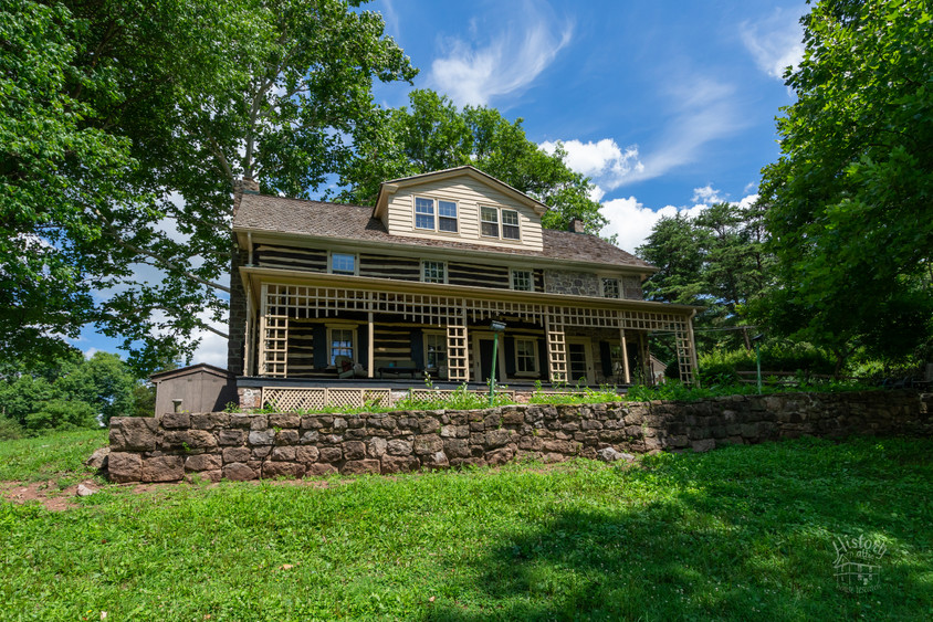 Chester County Log Home