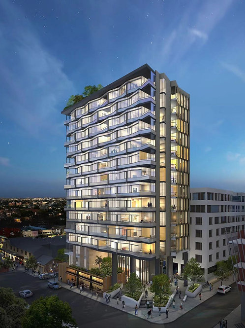 Burwood Lighthouse 2 bed room + Study Room + 1 car space