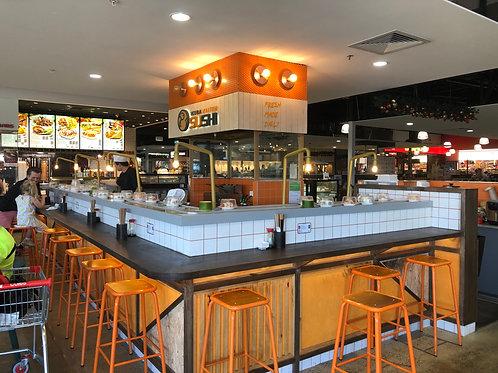 Glenmore PK Towncentre - Sushi Kiosks - Low Rent