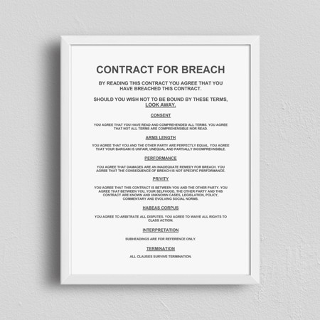 Contract for Breach