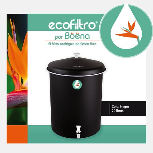 Ecofiltro - Color Negro Mate