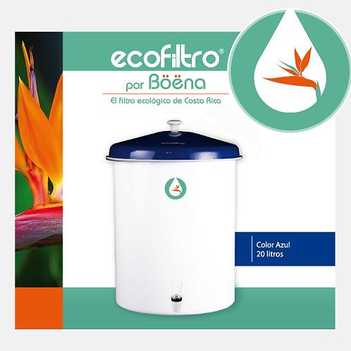 Ecofiltro - Color Blanco con Tapa Azul